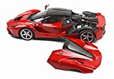 BBR 1/18完成品 ラ・フェラーリ レッド/ブラックルーフ リアカウルオープン ケース付 159台限定 P1867OPEN2