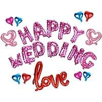 【ノーブランド品】 アルファベット 文字 ホイルバルーンセット 幸せ 結婚式 誕生日 ベビーシャワー 装飾 風船 全12タイプ - 装飾10