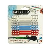 【正規輸入品】 Cleverline ケーブルオーガナイザー Cable-ID ブルーパッケージ 792001