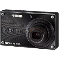 PENTAX デジタルカメラ Optio RS1000 ブラック 1400万画素 27.5mm 光学4倍 着せ替えOPTIORS1000BK