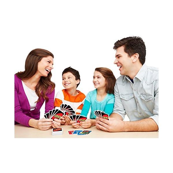ウノ UNO カードゲーム B7696の紹介画像4