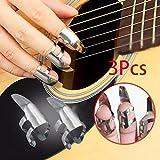 attachmenttouギター指は3本のステンレス鋼3PCS指を選びます
