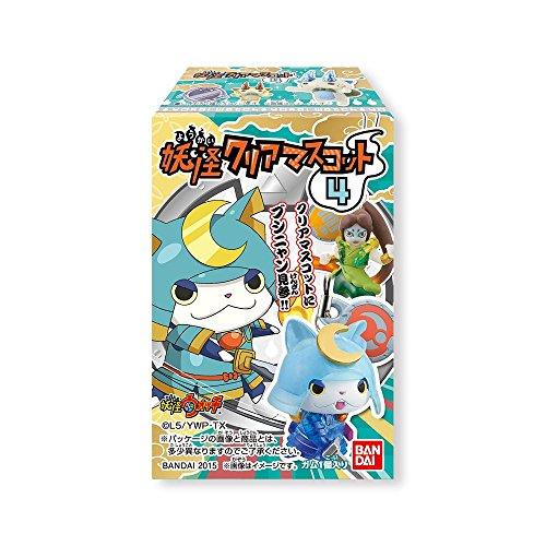 妖怪ウォッチ 妖怪クリアマスコット4  12個入 BOX(食玩・ガム)