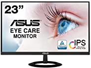 [Amazon.co.jp Exclusive] ASUS Frameless Monitor 23 Inch IPS 7mm Thin Ultra Slim Blue Light Reducing Flicker Fr