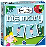 Holland Plastics オリジナルブランド Ben and Holly's マジカルキングダム ミニメモリーゲーム 楽しく教育的。