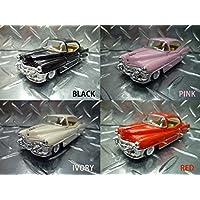 1953年式 キャデラック 62【1/43 ミニカー】 ★アメ車/ポップ/ギフト/フィフティーズ (アイボリー)