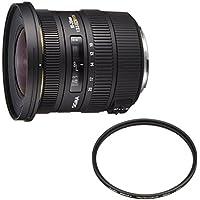 SIGMA 超広角ズームレンズ 10-20mm F3.5 EX DC HSM キヤノン用 APS-C専用+Kenko レンズフィルター PRO1D プロテクター (W) 82mm レンズ保護用