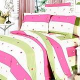 ブランコ寝具 - [カラフルなライフ]豪華  MEGA バッグ入り寝具組合わせ 10点セット 300GSM (ダブルサイズ)