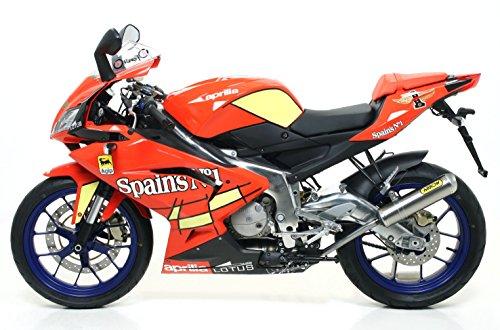 RS125 2007-2011 ストリート2Tチャンバー チタンサイレンサー 3707