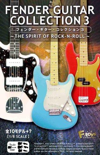 フェンダーギターコレクション3 1BOX(食玩) プラモデル