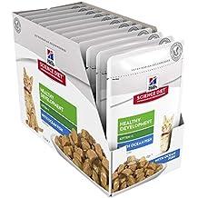 Hill's Science Diet Kitten Wet Cat Food, Healthy Development Ocean Fish Cat Food Pouches, 85g, 12 Pack