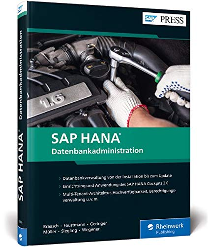 [画像:SAP HANA - Datenbankadministration: Ihr umfassendes Handbuch fuer SAP HANA 2.0]