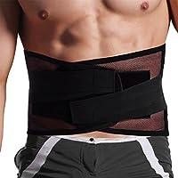 腰サポーター 腰ベルト コルセット 腰痛ベルト メッシュ素材 スポーツ 介護 男女兼用