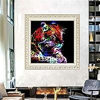 Zeroup ホーム レストラン 装飾 クリスタル ラインストーン 5Dダイヤモンド絵画キット