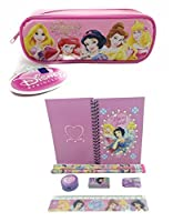 Disney Princesses Combo stationery Set + Pencil Pouch