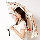 ミラ・ショーン(雑貨)(mila schon) 【開閉時のポキポキが不要】レディース折りたたみ傘【21ベージュ/55】