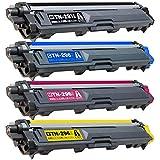 エースカラー ブラザー TN-291/296 4色セット(BK/C/M/Y) 大容量 互換トナーカートリッジ