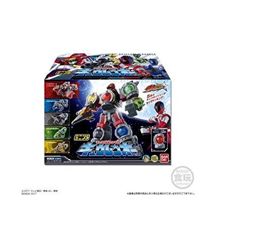ミニプラ キュータマ合体シリーズ01 キュウレンオー(6種セット×1個入り)【宇宙戦隊キュウレンジャー】