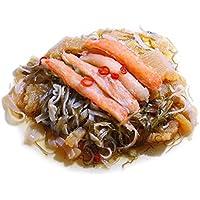 松前漬け 北海道産 北海道加工 天然 ボイルズワイガニ足 棒肉むき身入 特上 (500g)