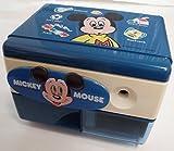 三菱 電動シャープナー ES-30 106 ミッキーマウス (ミッキーF 青) 電動鉛筆削り機
