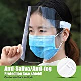 STARISE 2 Pack Unisex Face Shield Reusable for Cycling Camping Travel for Kids Teens Men Women (2 PACK)