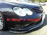 ベンツ R230 SL55 SL600 フロントカーボンスポイラー AMG BENZ