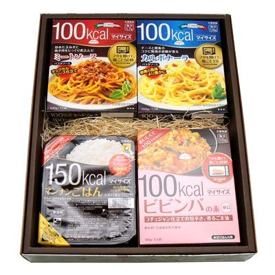 おかしのマーチ 大塚食品 マイサイズ シリーズ(パスタソース・ビビンバ・リゾット) 6種類・9個 マンナンごはん 2個 (計11個) ギフト セット E