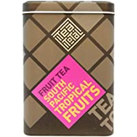 Tea total (ティートータル) / トロピカル フルーツ 100g入り缶タイプ ニュージーランド産 (フルーツティー / フレーバーティー / ノンカフェイン / ドライフルーツ)【並行輸入品】