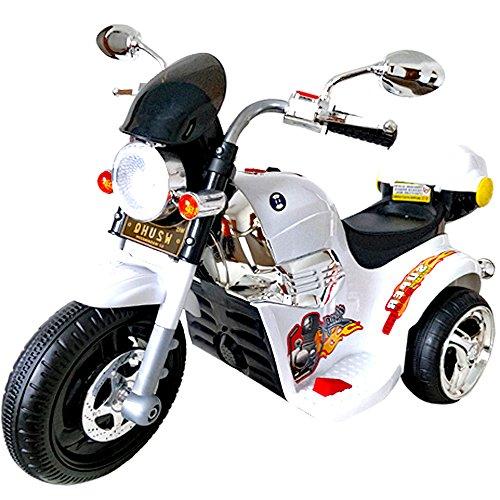 電動 乗用 バイク 014【白】/ 乗用玩具 / アメリカン...