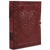 Celtic Heart Leather Journal Notebook Diary Sketchbook Unlined 6 X 8 by Ferus & Fivel [並行輸入品]