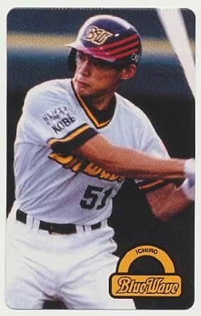 東京スナック(カルビー) 野球カード 1996年 イチロー オリックス ブルーウェーブ [No.37]