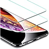 iPhone Xs, iPhone X Screen Protector, ESR (2-Pack) iPhone Xs/X Tempered Glass Screen Protector with Installation Kit [Force Resistant Up to 22 Pounds] Case Friendly for iPhone Xs/iPhone X 5.8-inch 2017/2018 released version