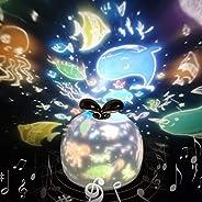 「令和元年最新版」スタープロジェクターライト 星空ライト 音楽再生 クリスマスランプ 寝かしつけ用おもちゃ スターナイトライト SYOSIN 360度回転ライト 6種類投影映画フィルム 海プロジェクター プラネタリウム
