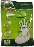 フアスト 綿手袋 M うす手 3双