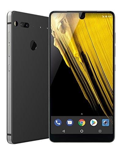 『Essential Phone 128 GB Unlocked Titanium and Ceramic phone with Edge-to-Edge Display - Halo Gray – [並行輸入品] (Halo Gray)』のトップ画像