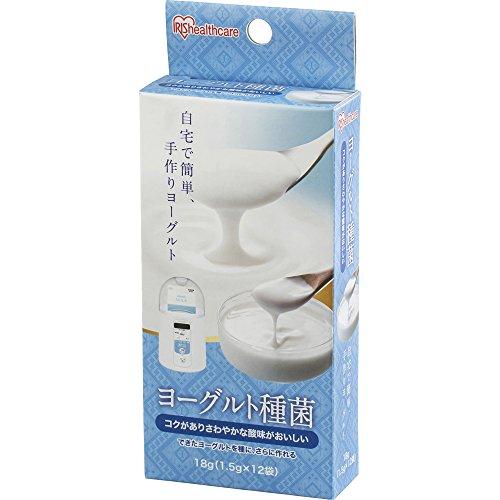 アイリスオーヤマ ヨーグルトメーカー用 ヨーグルト種菌×12...