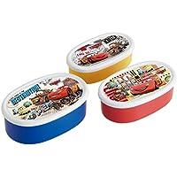 スケーター シール 保存容器 3Pセット カーズ 17 ディズニー 日本製 SRS3S
