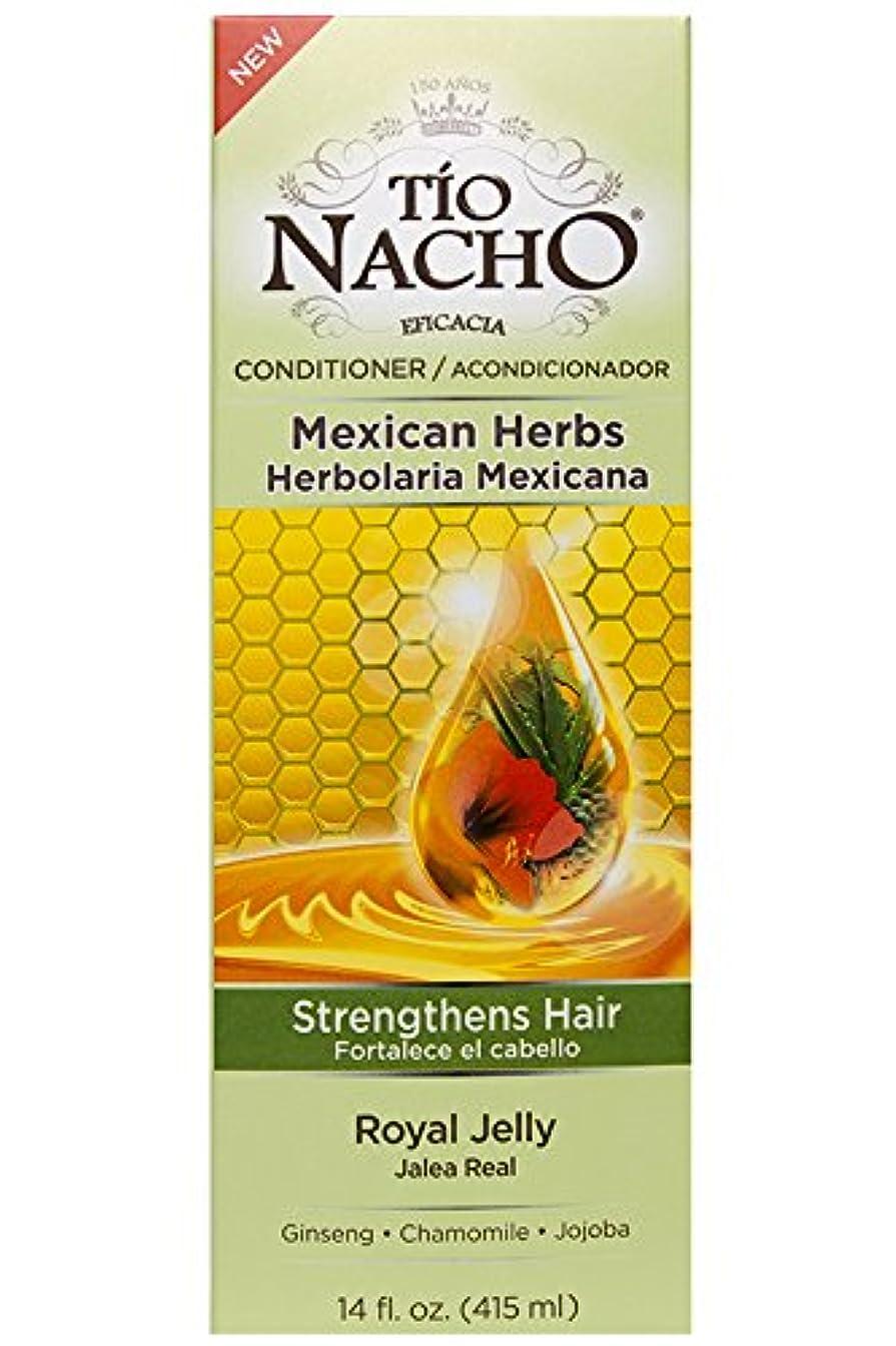 仲人君主メンダシティTio Nacho ローヤルゼリー、高麗人参、アロエベラ、小麦、ホホバ、14オンスコンディショナーを強化メキシコハーブの髪。