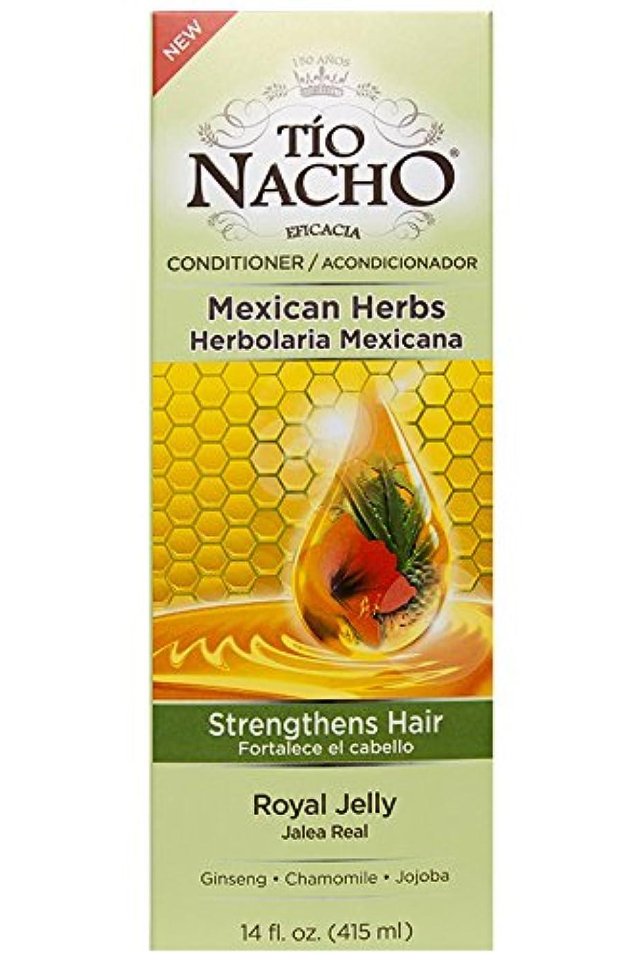 設置ファウルひまわりTio Nacho ローヤルゼリー、高麗人参、アロエベラ、小麦、ホホバ、14オンスコンディショナーを強化メキシコハーブの髪。
