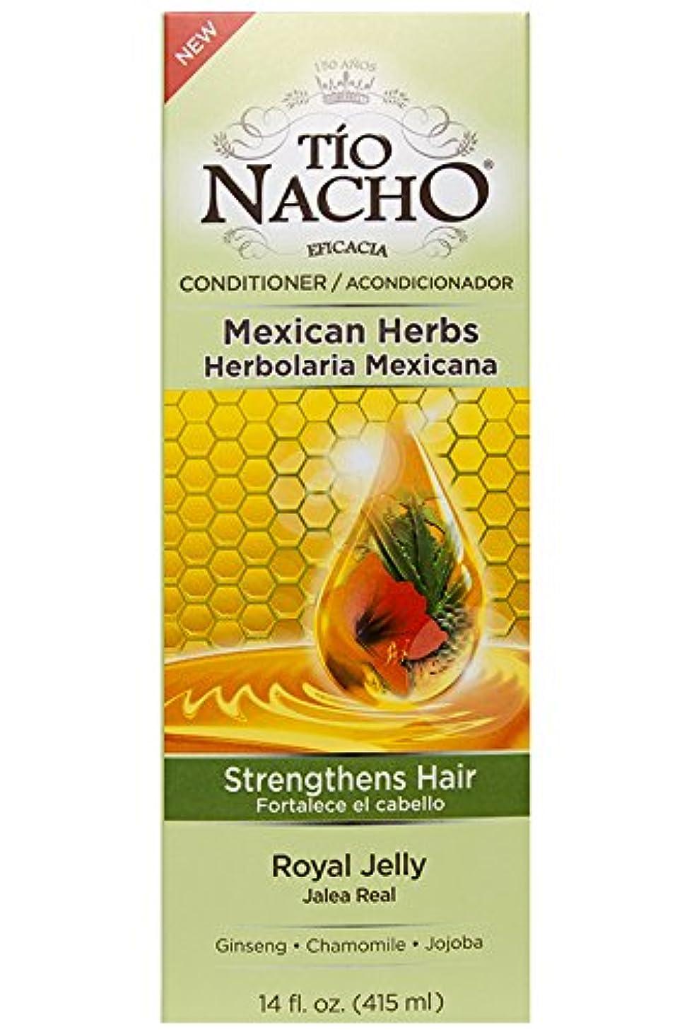 通知する振る舞う消化Tio Nacho ローヤルゼリー、高麗人参、アロエベラ、小麦、ホホバ、14オンスコンディショナーを強化メキシコハーブの髪。