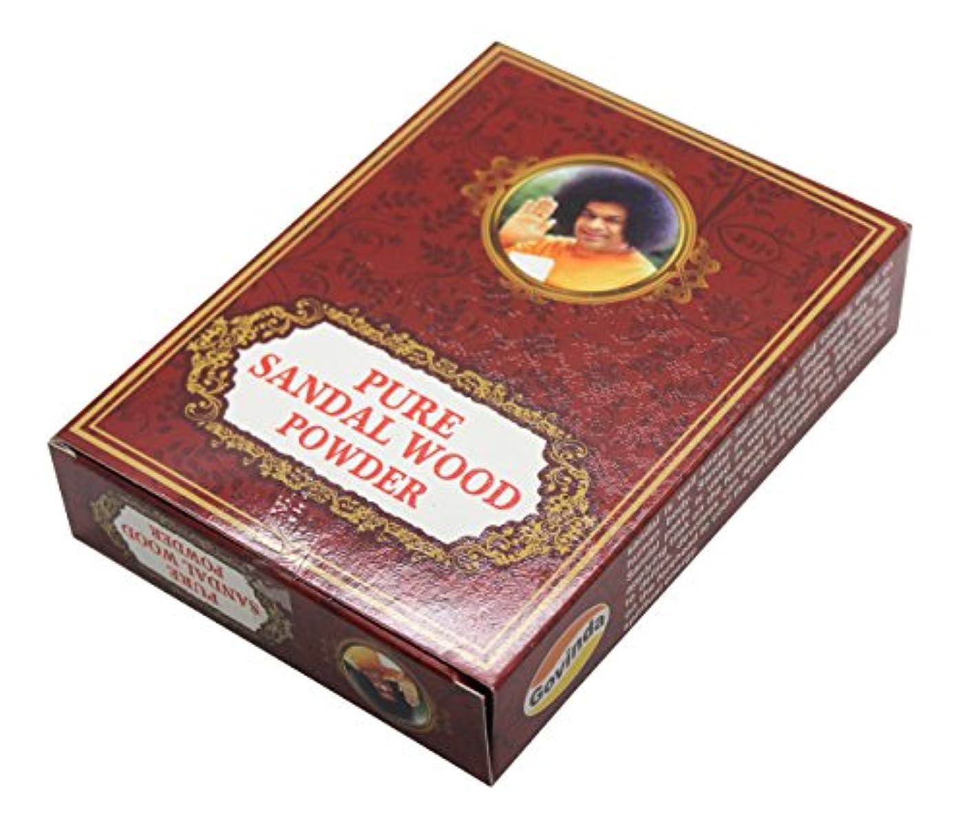 衣服反論者農村Govinda - Pure Sandalwood Powder - 100 Grammes