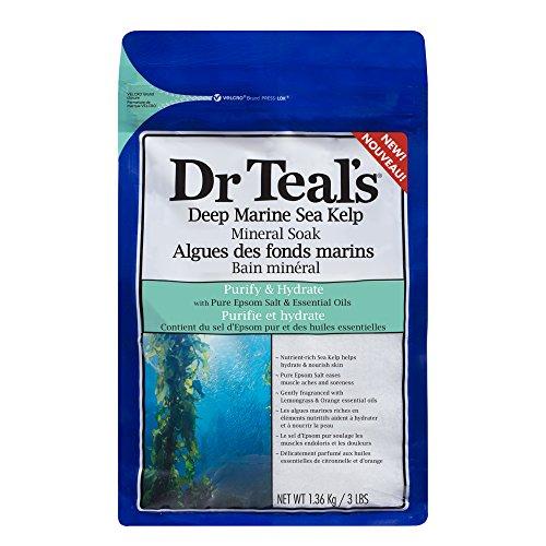 Dr Teal's(ティールズ) フレグランスエプソムソルト ディープマリンシーケルプ 入浴剤 1360g