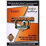 Miami Hurricanes: 2002 Rose Bowl [DVD] [Import]