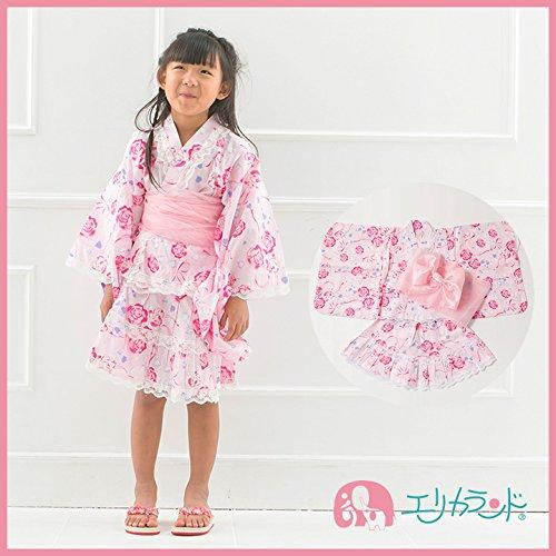 【ER2344B2】 浴衣 ドレス キッズ 女の子 セット ...