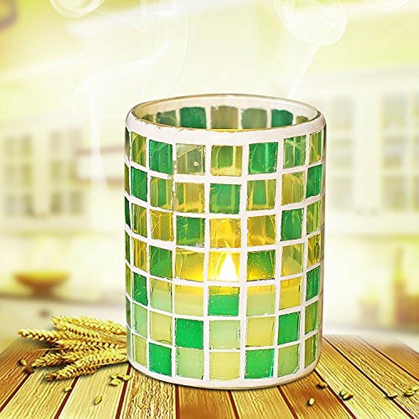 不毛金銭的フリル(3x4) - Flameless Mosaic Candle With Timer, Battery Operated Led Candle, Grid, for Wedding Decor(7.6cm x 10cm)