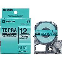 キングジム テープカートリッジ テプラPRO  SMP12G パール緑