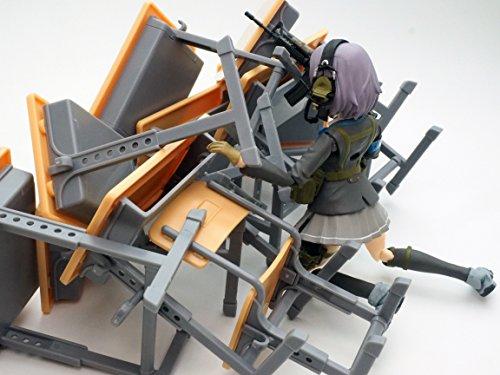 リトルアーモリー LD013 指定防衛校の机 プラモデル