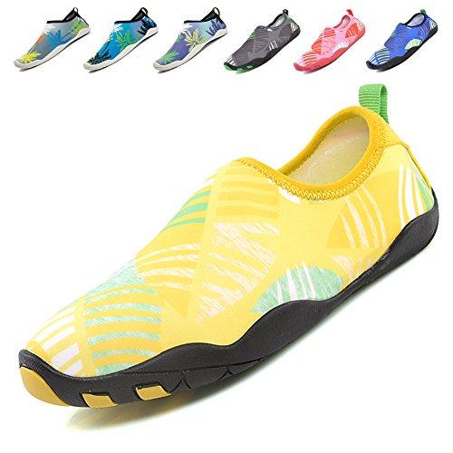 [해외]Viyear 남녀 겸용 마린 슈즈 워터 슈즈 다이빙 슈즈 아쿠아 슈즈 비치 샌들 수륙 양용 초경량 통기성/Viyear Unisex Marine Shoes Water Shoes Diving Shoes Aqua Shoes Beach Sandal Amphibious Ultra Lightweight Breathable