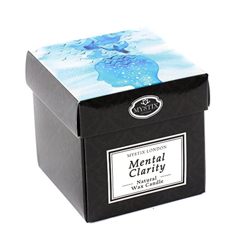 溶けた脱獄岸Mystix London | Mental Clarity Scented Candle - Large