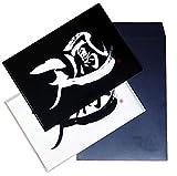 天鳳無料チケット300日 + A4クリアファイル白黒各1枚付き